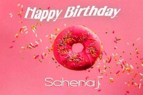 Happy Birthday Cake for Sahenaj