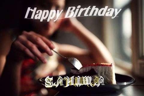 Happy Birthday Wishes for Sahima