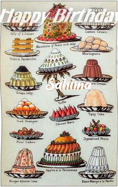 Sahima Cakes