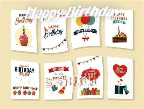 Happy Birthday Cake for Sahina