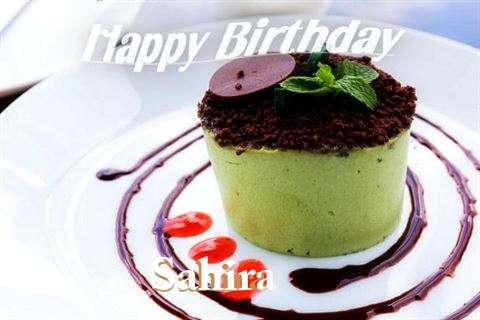 Happy Birthday to You Sahira