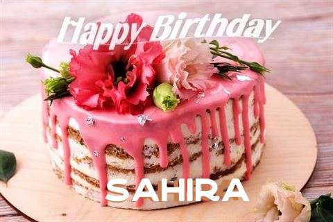 Happy Birthday Cake for Sahira