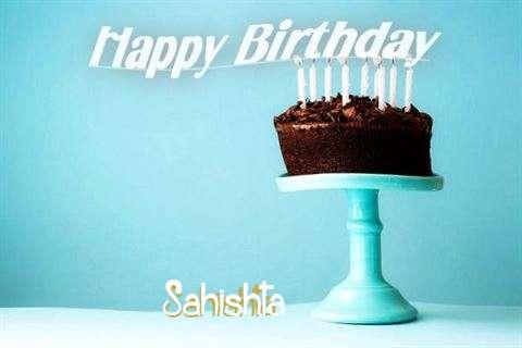 Birthday Wishes with Images of Sahishta