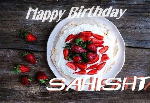 Happy Birthday to You Sahishta
