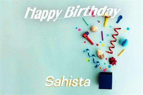 Happy Birthday Wishes for Sahista