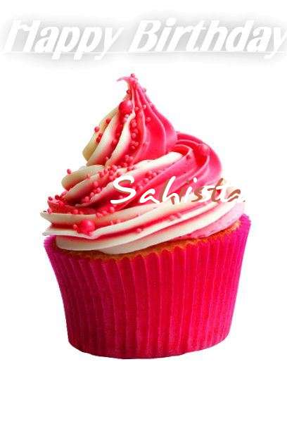 Happy Birthday Cake for Sahista