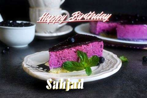 Happy Birthday Wishes for Sahjad