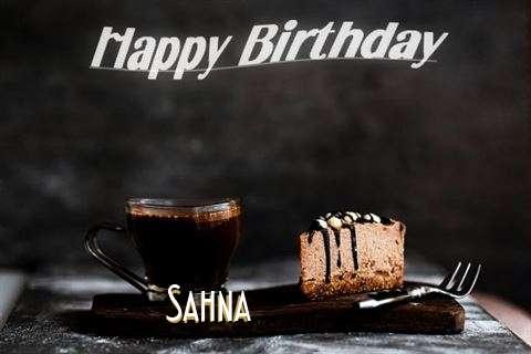 Happy Birthday Wishes for Sahna