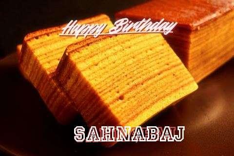 Happy Birthday Wishes for Sahnabaj
