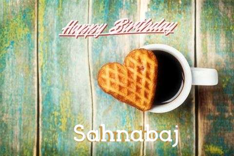Happy Birthday Cake for Sahnabaj