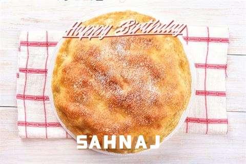 Happy Birthday Wishes for Sahnaj
