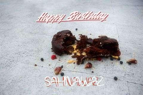 Happy Birthday Sahnawaz Cake Image