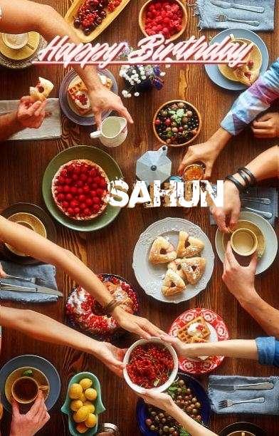 Happy Birthday Sahun