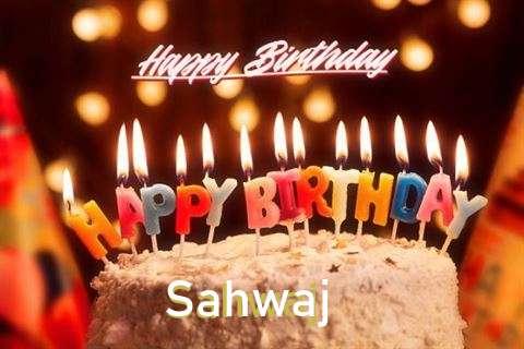 Happy Birthday Cake for Sahwaj
