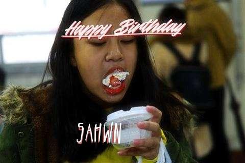 Happy Birthday Cake for Sahwn