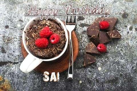 Happy Birthday Wishes for Sai