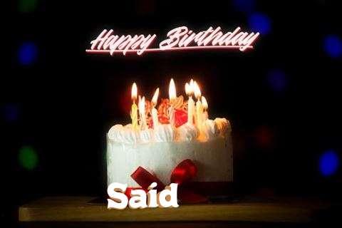 Happy Birthday Said