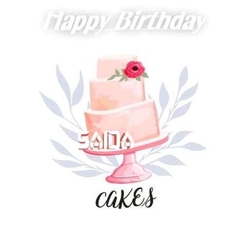 Birthday Images for Saida