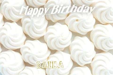 Saida Birthday Celebration