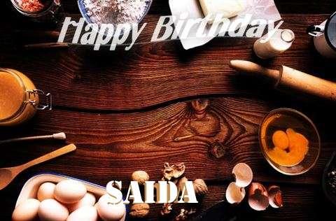 Happy Birthday to You Saida