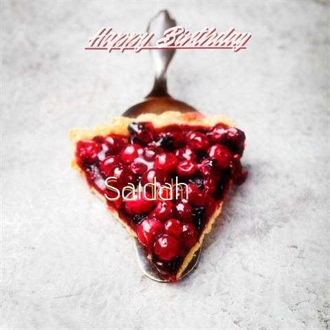 Saidah Birthday Celebration