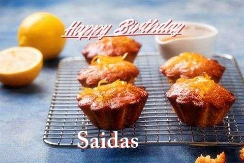 Happy Birthday Saidas