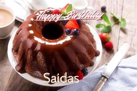 Birthday Images for Saidas