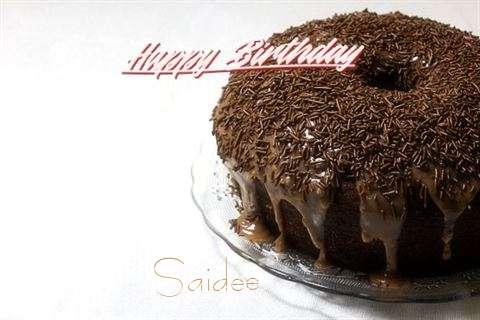 Happy Birthday Saidee