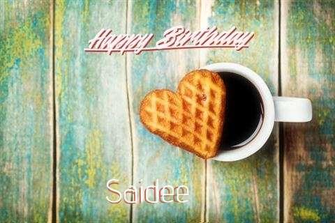 Happy Birthday Cake for Saidee