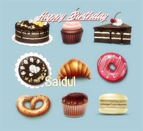 Happy Birthday Saidul Cake Image
