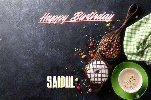 Happy Birthday to You Saidul