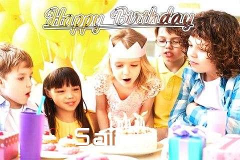 Happy Birthday to You Saif