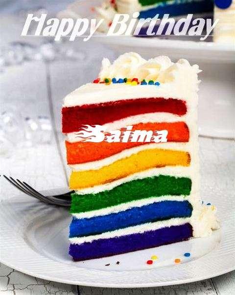 Happy Birthday Saima