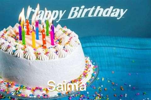 Happy Birthday Wishes for Saima