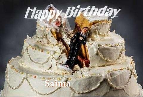 Happy Birthday to You Saima