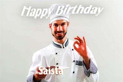 Happy Birthday Saista