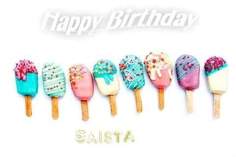 Saista Birthday Celebration