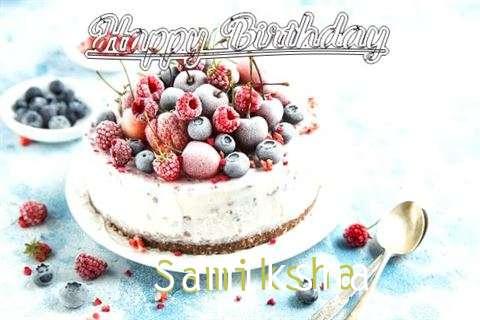 Happy Birthday Cake for Samiksha