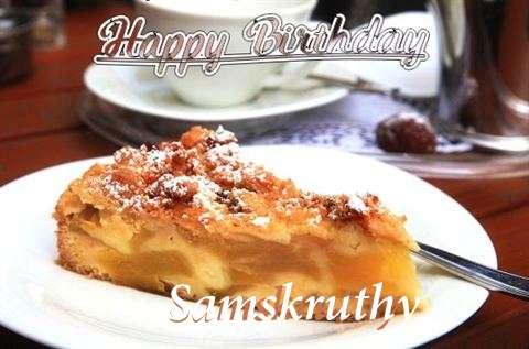 Happy Birthday Samskruthy
