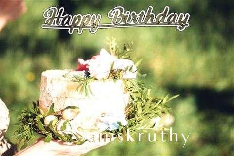 Birthday Images for Samskruthy