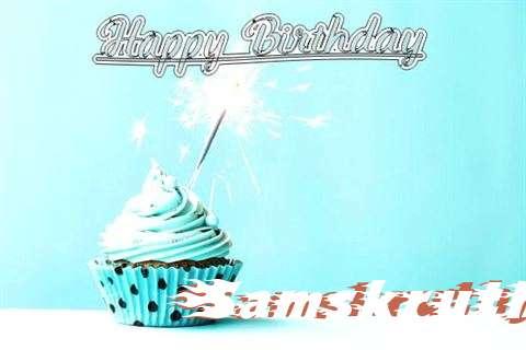 Happy Birthday Cake for Samskruthy