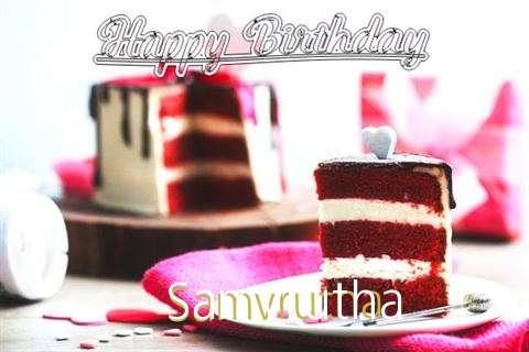 Happy Birthday Wishes for Samvrutha