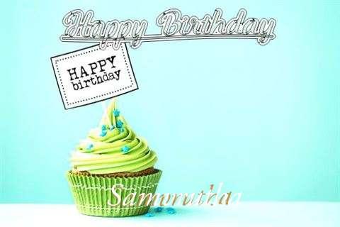 Happy Birthday to You Samvrutha