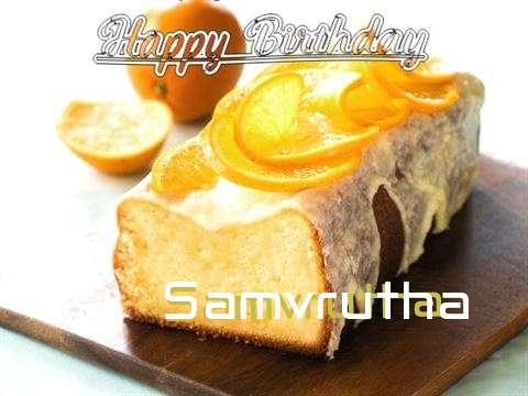 Samvrutha Cakes