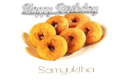 Happy Birthday Samyuktha