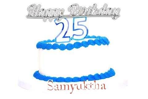 Happy Birthday Samyuktha Cake Image
