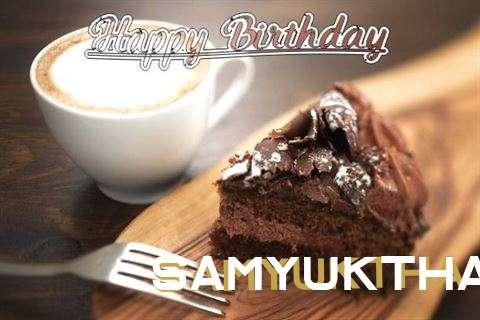 Birthday Images for Samyuktha