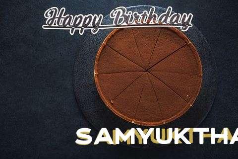 Happy Birthday to You Samyuktha