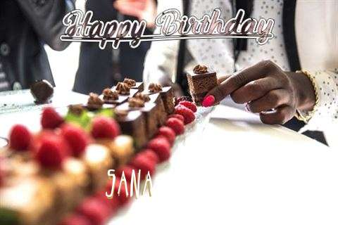 Birthday Images for Sana