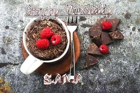 Happy Birthday Wishes for Sana